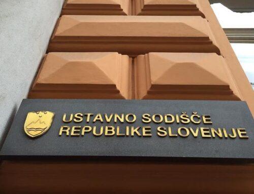 Sklep Ustavnega sodišča o začasnem zadržanju izvajanja določb ZIUZEOP